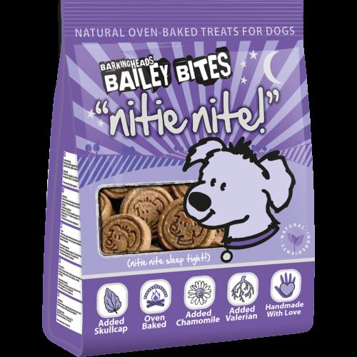 Barking Heads Bailey Bites Nite Nite Natural Dog Treats 200g