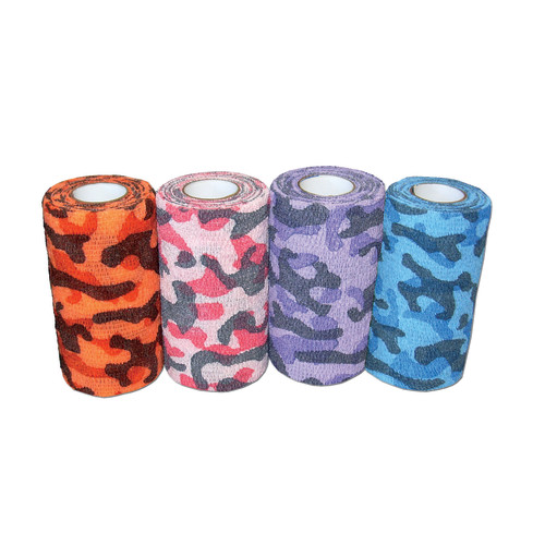 Andover Powerflex Bandages Camouflage Colourpack 18 Pack