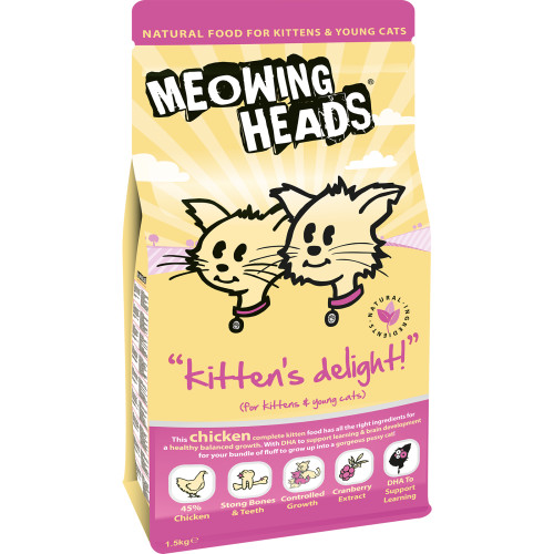 Meowing Heads Kittens Delight Kitten Food