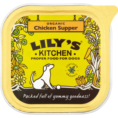 Lilys Kitchen Organic Chicken & Spelt Supper Dog Food