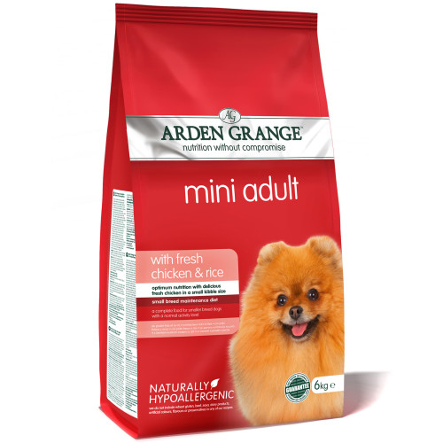 Arden Grange Mini Chicken & Rice Adult Dog Food