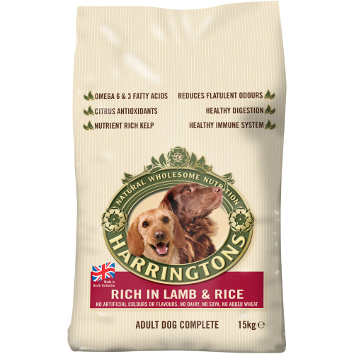 Harringtons Lamb & Rice Dog Food