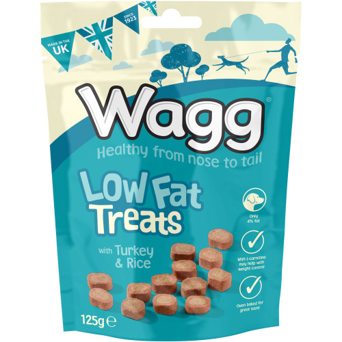 Wagg Low Fat Turkey & Rice Dog Treats