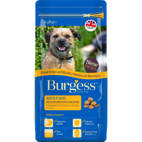 Burgess Free From Complete Chicken Adult Dog Food