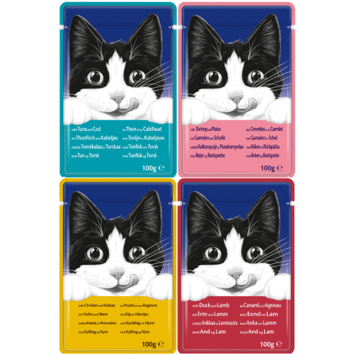 Felix Variety Selection Adult Cat Food