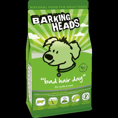 Barking Heads Bad Hair Day Adult Lamb 2kg