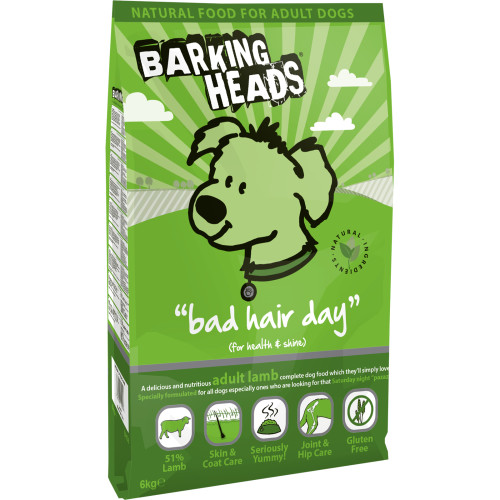 Barking Heads Bad Hair Day Adult Lamb