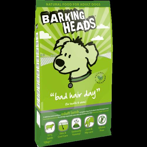 Barking Heads Bad Hair Day Adult Lamb 12kg