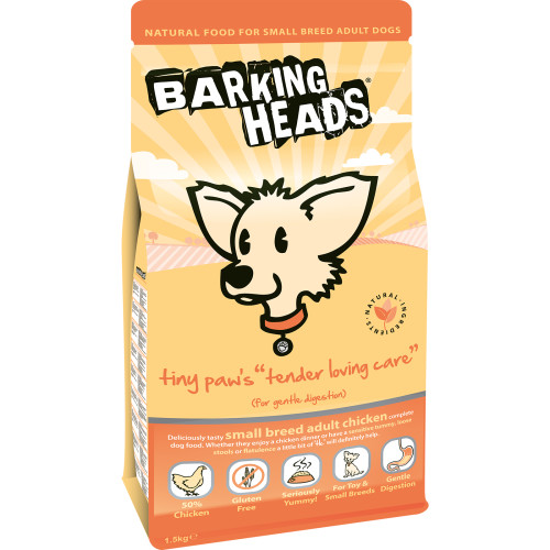 Barking Heads Tiny Paws Tender Loving Care Small Adult Dog Food