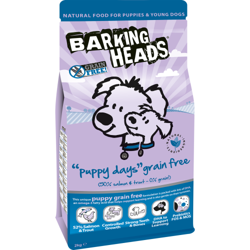 Barking Heads Puppy Days Grain Free Dog Food 12kg