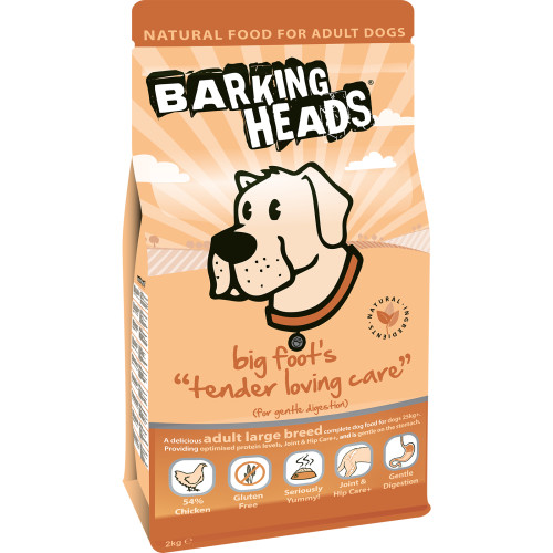 Barking Heads Big Foot Tender Loving Care Large Breed Adult Dog Food