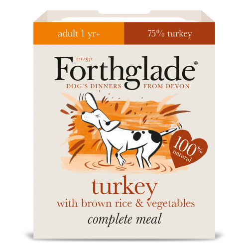 Forthglade Complete Turkey with Brown Rice & Veg Adult Dog Food