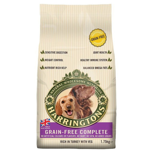 Harringtons Grain Free Turkey & Vegetables Adult Dog Food