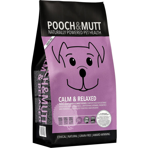 Pooch & Mutt Calm & Relaxed Complete Adult Dog Food