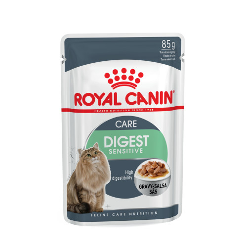 Royal Canin Health Nutrition Digest Sensitive Pouches Cat Food