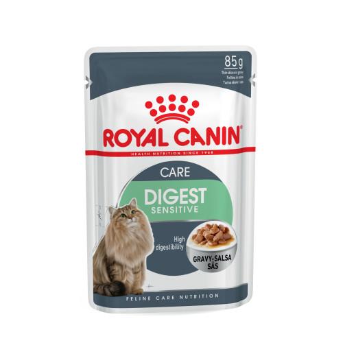 royal canin health nutrition digest sensitive pouches cat food from waitrose pet. Black Bedroom Furniture Sets. Home Design Ideas