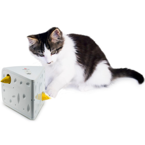PetSafe FroliCat Cheese Automatic Cat Teaser Toy