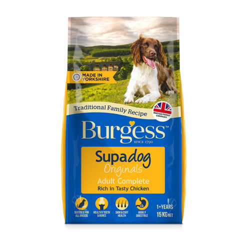 Burgess Supadog Complete Chicken Adult Dog Food