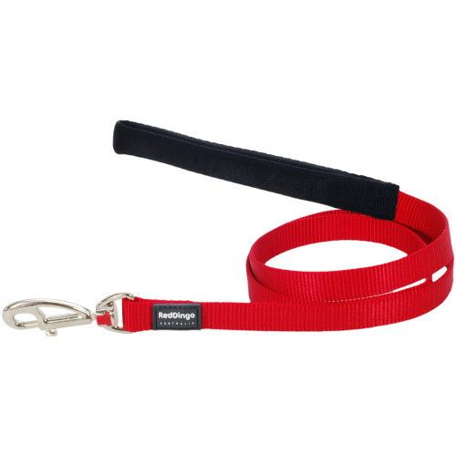 Red Dingo Dog Lead Classic