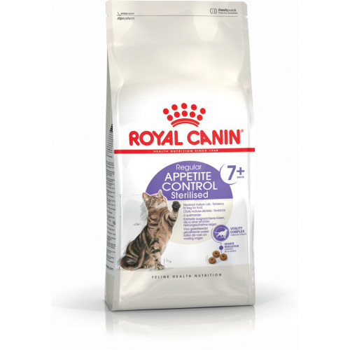 Royal Canin Health Nutrition Sterilised Appetite Control 7+