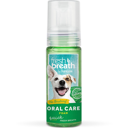 Tropiclean Fresh Breath Mint Foam