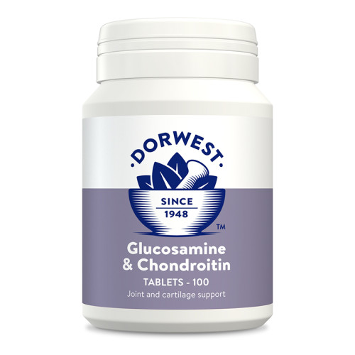Dorwest Glucosamine & Chondroitin Tablets for Dogs & Cats