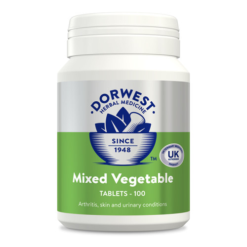 Dorwest Mixed Vegetable Tablets