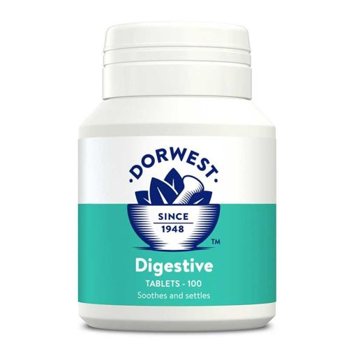 Dorwest Digestive Supplement Tablets for Dogs & Cats