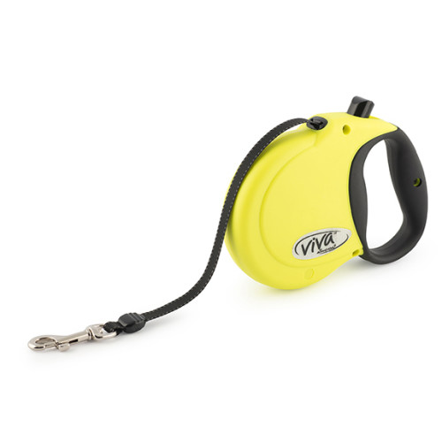 Ancol Viva 5m Hi-Vis Retractable Dog Lead