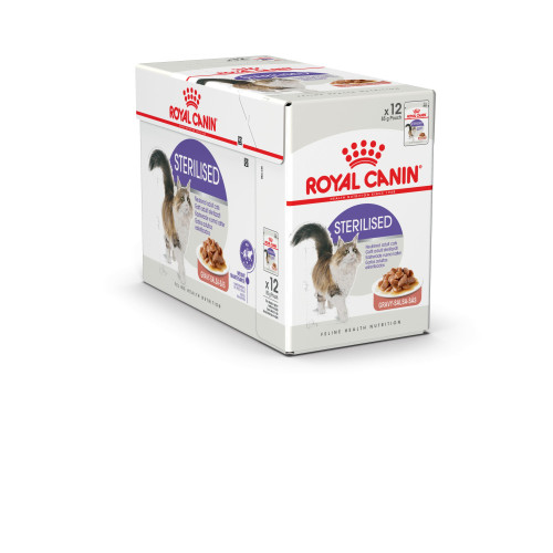 Royal Canin Health Nutrition Sterilised in Gravy Adult Cat Food