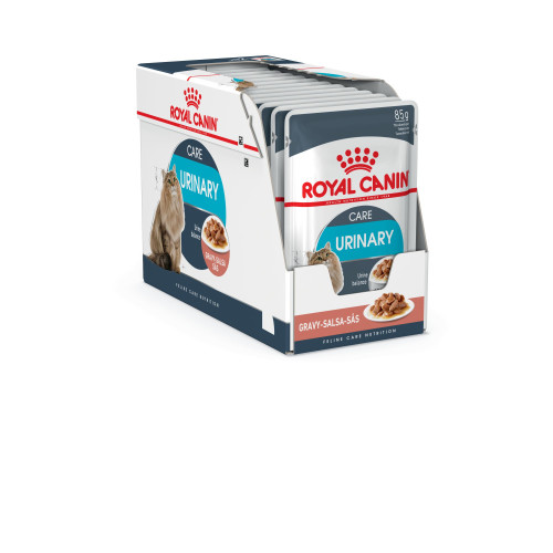 Royal Canin Health Nutrition Urinary Care in Gravy Adult Cat Food