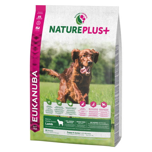 Eukanuba Nature Plus Lamb Puppy Junior Food