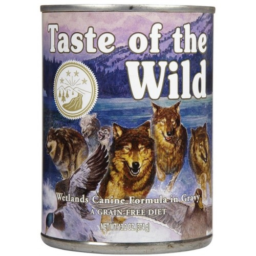 Taste Of The Wild Wetlands In Gravy Adult Dog Food