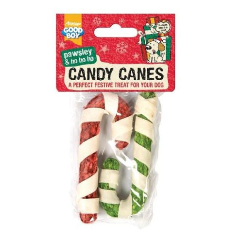 Good Boy Candy Canes Christmas Dog Treat