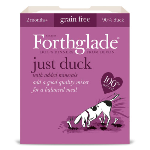 Forthglade Just Duck Grain Free Dog Food