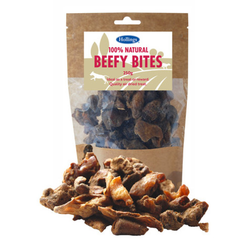 Hollings Beefy Bites Natural Dog Treats