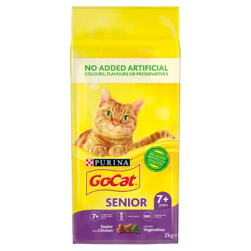 Go-Cat Chicken & Rice with Vegetables Senior Cat Food