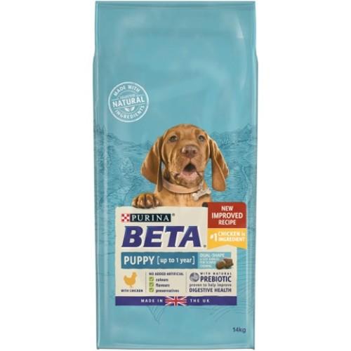 beta chicken puppy food from £8.95
