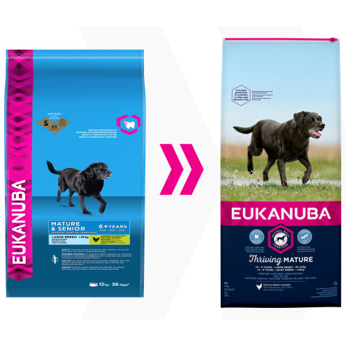 Eukanuba Thriving Mature Chicken Large Breed Dog Food