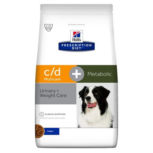 Hills Prescription Diet CD Multicare + Metabolic Chicken Dry Adult Dog Food 12kg x 2