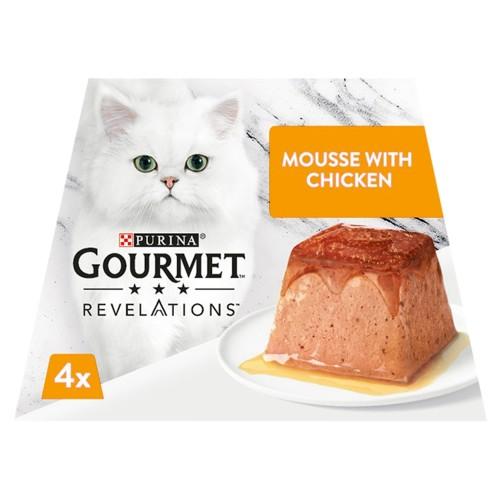 Gourmet Revelations Chicken in Gravy Wet Cat Food 57g x 4