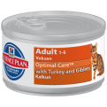Hills Science Plan Feline Adult Turkey Canned