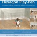 Rosewood Options Hexagon Play Pen