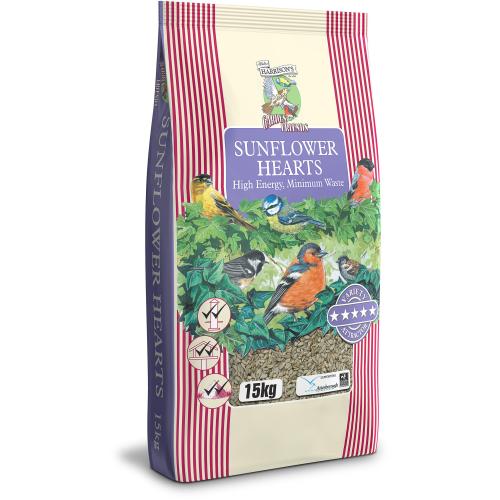 Harrisons Sunflower Hearts Wild Bird Food 15kg