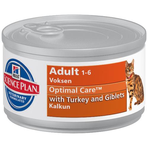 Hills Science Plan Feline Adult Turkey Canned