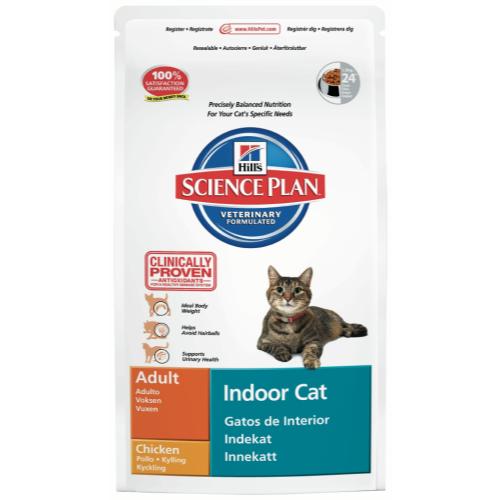 Hills Science Plan Feline Adult Indoor Cat Chicken
