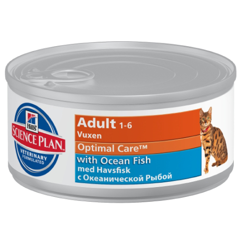 Hills Science Plan Feline Adult Ocean Fish Canned