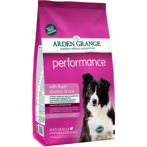 Arden Grange Chicken & Rice Performance Dog Food 12kg