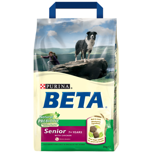 BETA Chicken Senior Dog Food 2.5kg
