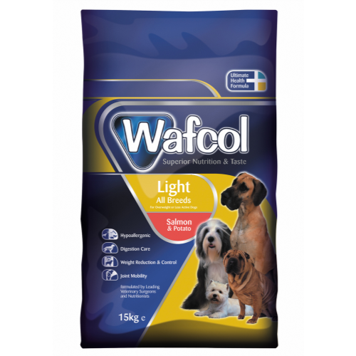 Wafcol Salmon & Potato Light Dog Food 3kg